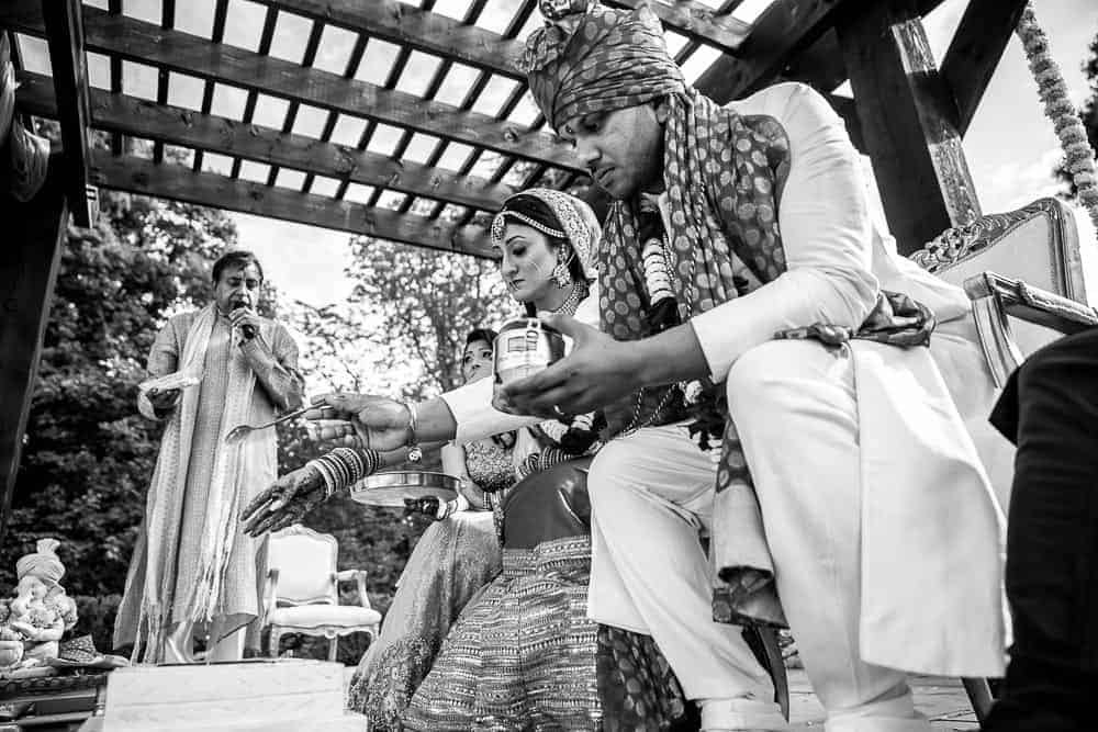 Hindu Wedding Ceremony Swynford Manor